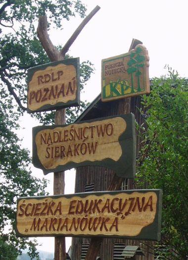 Ścieżka przyrodniczo-leśna Marianówka