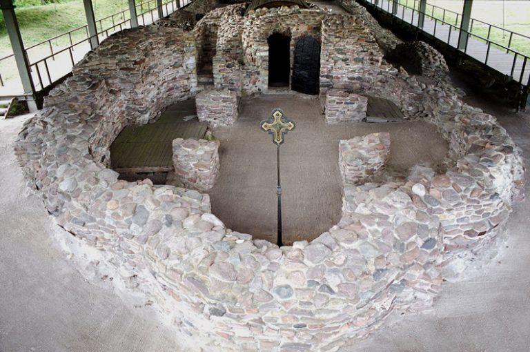 Palatium książęce na Ostrowie Lednickim