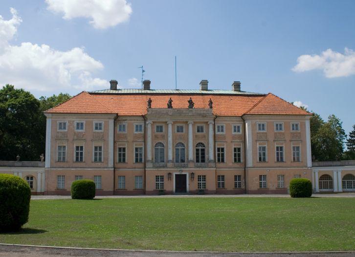 Herb Pałac w Pawłowicach