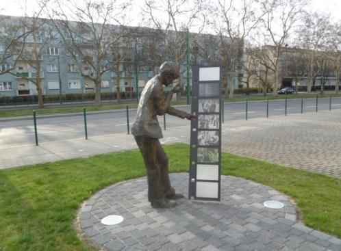Pomnik Krzysztafa Komedy Trzcińskiego w Poznaniu