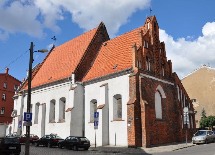 Herb Kościół klasztorny salezjanów pw. NMP Wspomożenia Wiernych w Poznaniu