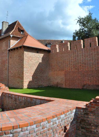 Fragment murów miejskich w Poznaniu