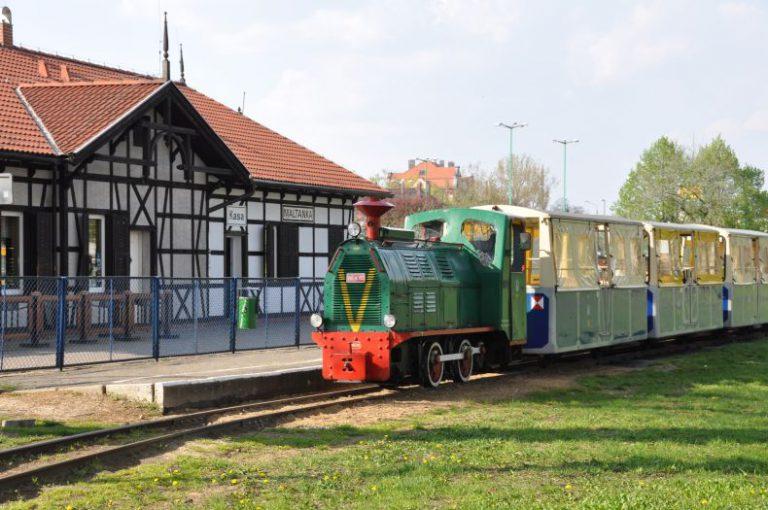 Stacja kolejki wąsotorowej Maltanka w Poznaniu