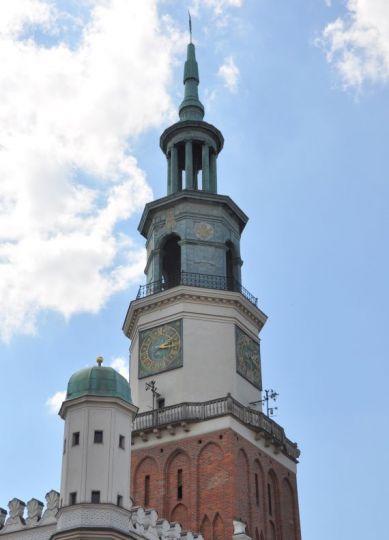 Ratuszowa wieża w Poznaniu