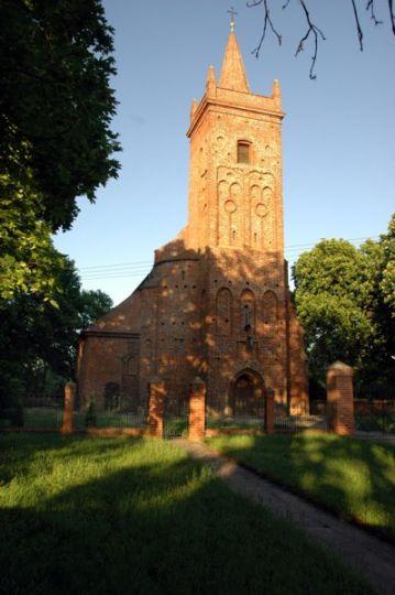 Herb Kościół pw. NMP Wniebowziętej w Psarskiem