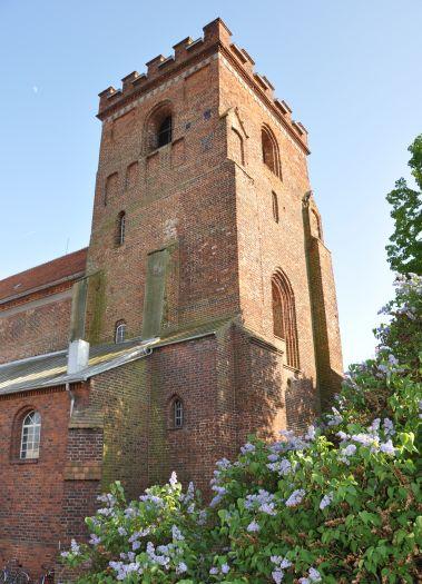Wieża kościoła farnego w Pyzdrach
