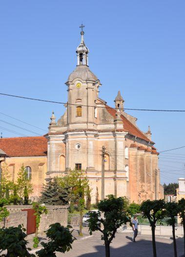 Herb Kościół pw. Ścięcia Głowy św. Jana Chrzciciela w Pyzdrach