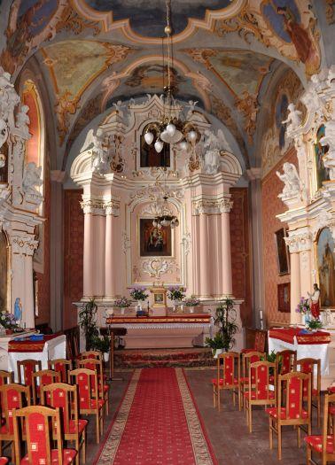 Kaplica boczna w kościele pofranciszkańskim w Pyzdrach