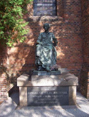 Zaniemyśl- grób Edwarda Raczyńskiego