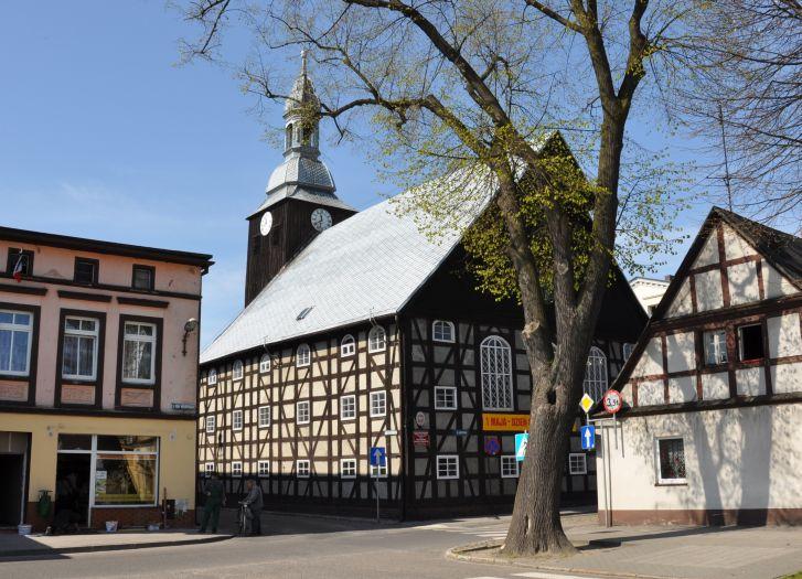 Poewangeliski zbór w Rakoniewicach (obecnie Muzeum Pożarnictwa)
