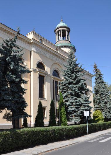 Herb Kościół pw. św. Andrzeja Boboli w Rawiczu