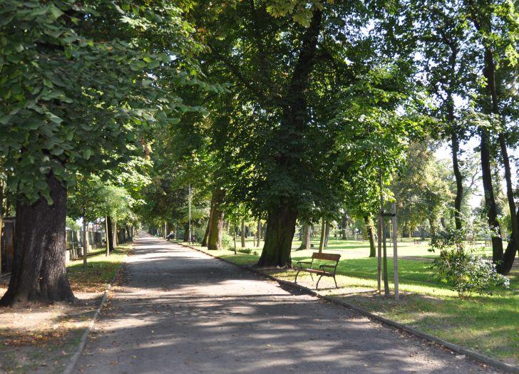 Planty im. Jana Pawła II w Rawiczu
