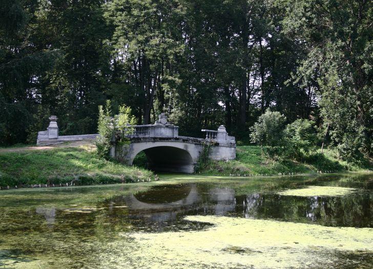 Fragment parku w Posadowie