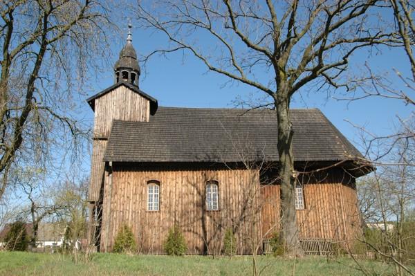 Herb Kościół pw. św. Mikołaja w Słopanowie