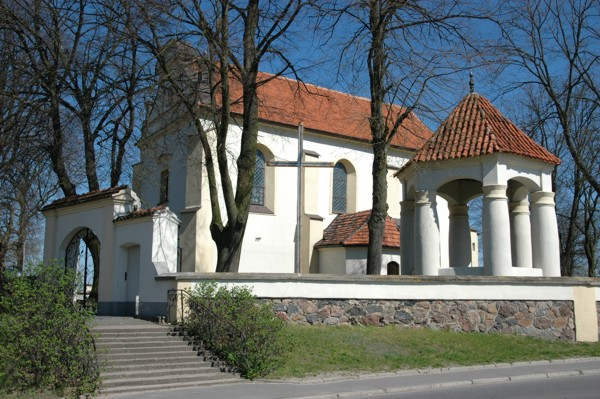 Herb Kościół pw. Narodzenia NMP w Sobocie