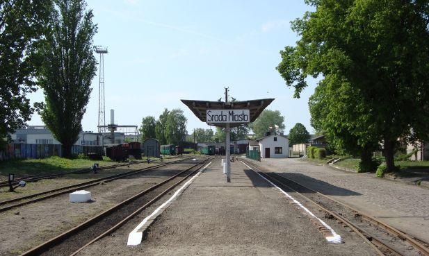 Stacja kolejki wąskotorowej
