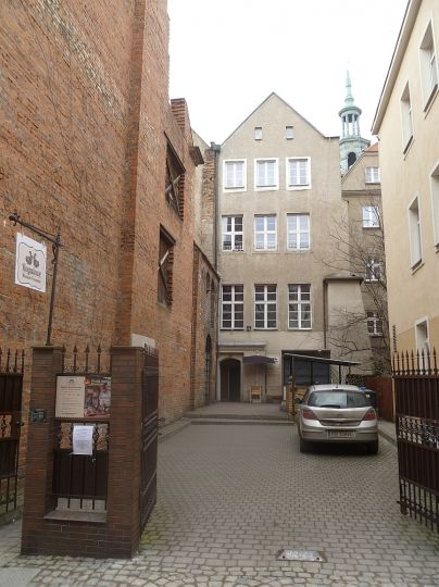 Rogalowe Muzeum Poznania (widok od ul. Klasztornej)