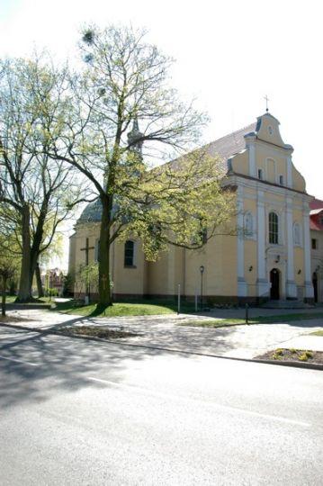 Herb Kościół pw. Świętego Krzyża w Szamotułach
