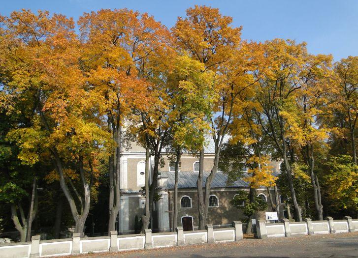 Herb Kościół pw. św. Andrzeja Apostoła w Tursku