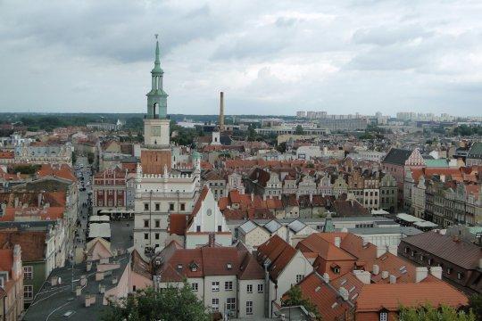 Herb Poznań<br>Wieża zamkowa