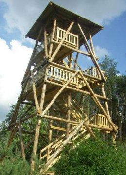 Herb Osieczna<br>wieża Jagoda