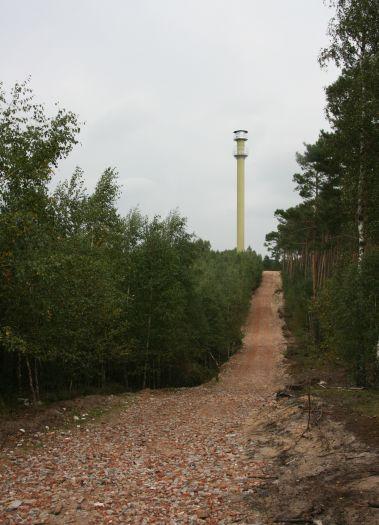 Wieża obserwacyjna Mycin w Dąbrówce Leśnej