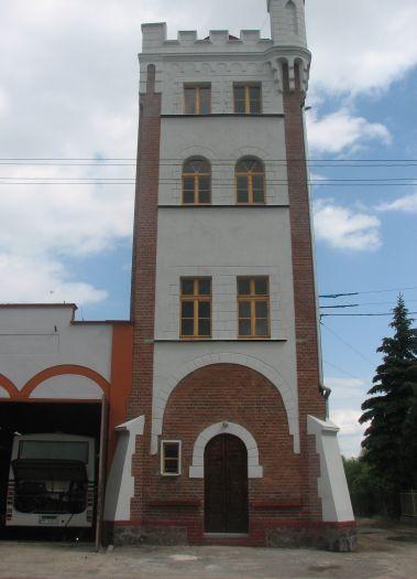 Wieża widokowa (wspinalnia) w Wągrowcu