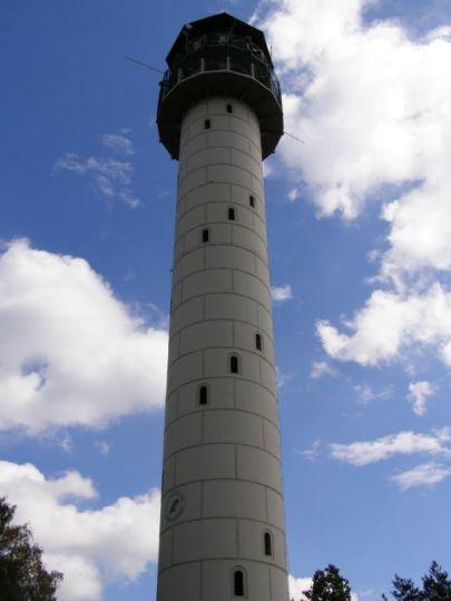Wieża widokowa na Dziewiczej Górze