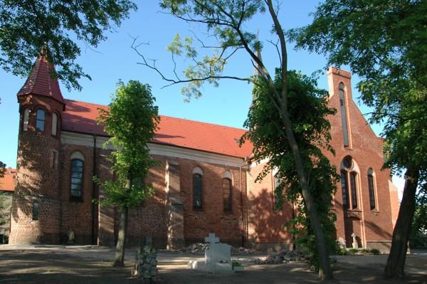 Herb Kościół pw. św. Jadwigi w Wilczynie