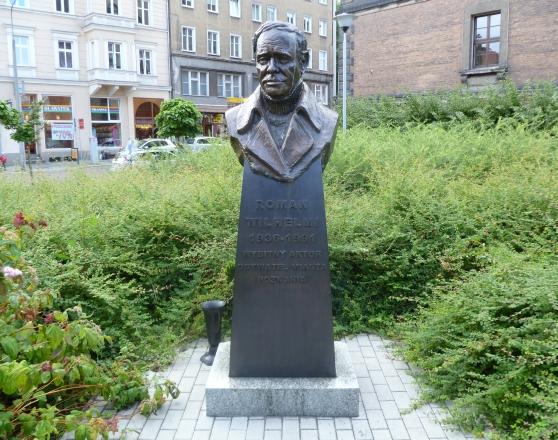 Pomnik Romana Wilhelmiego w Poznaniu