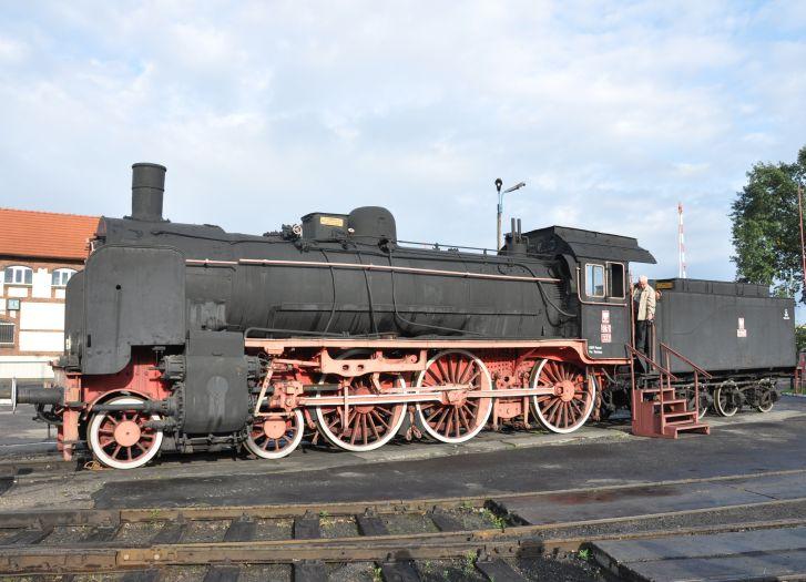 Jeden z wolsztyńskich parowozów