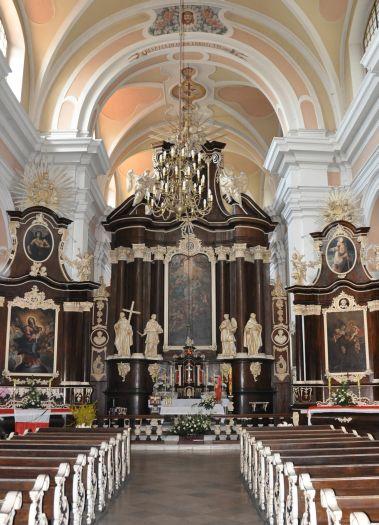 Kościół franciszkanów w Woźnikach