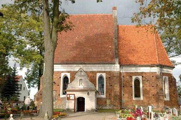 Herb Kościół pw. Narodzenia NMP w Zbarzewie