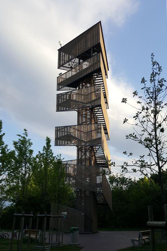 Herb Wieża widokowa Poznań Szachty